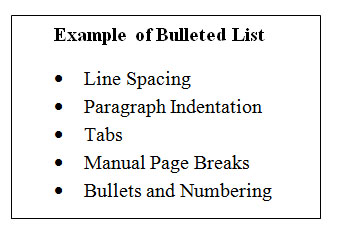 webstarts how to create a numbered list